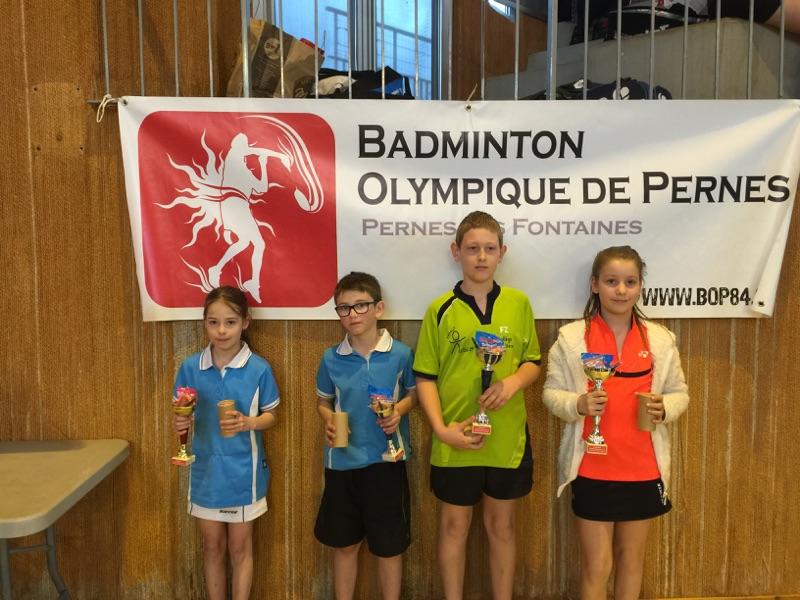 Tournoi Régional Jeunes De PERNES Les FONTAINES – 2015