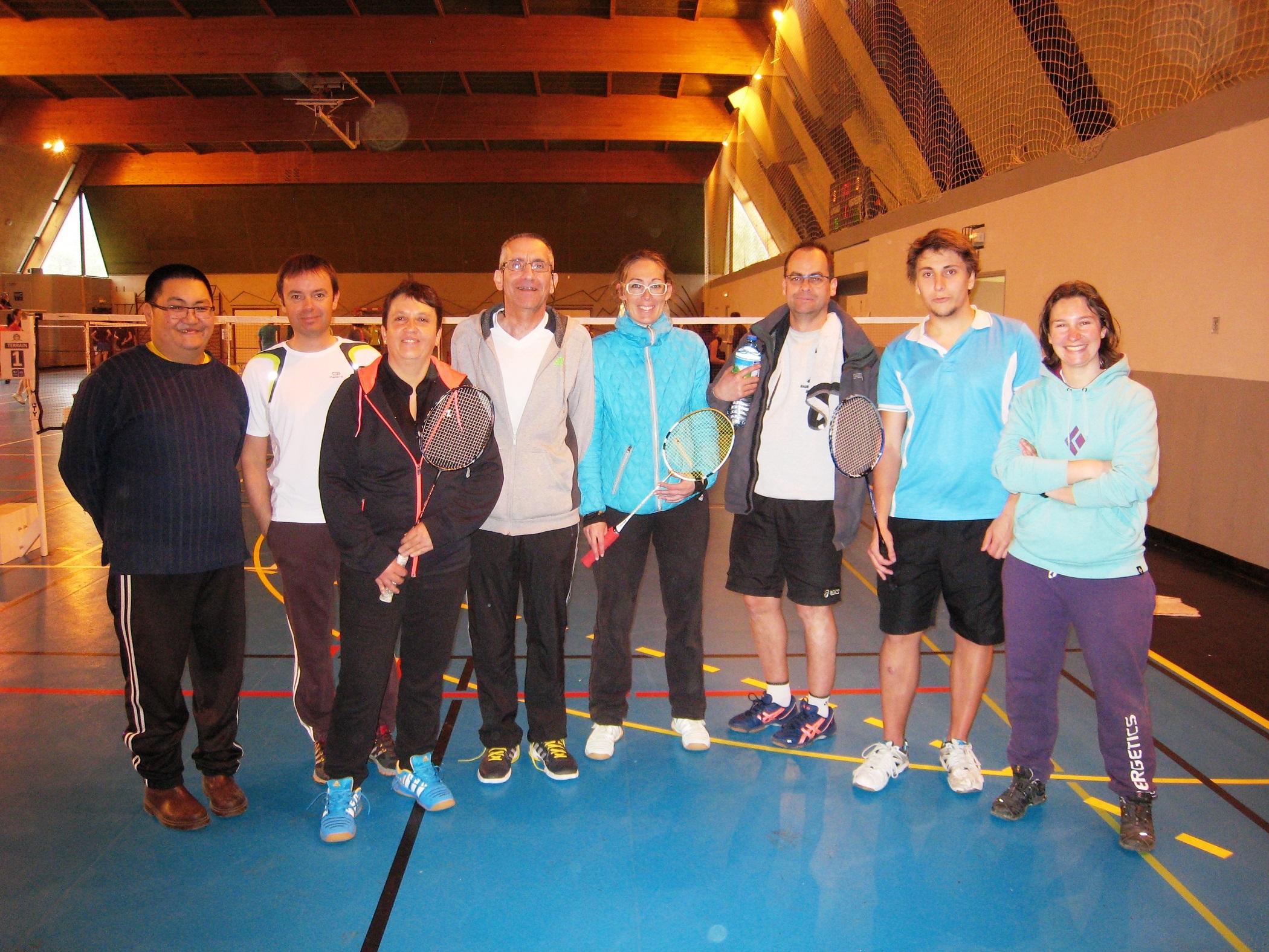 Circuit Départemental De Doubles – Embrun – Mars 2016