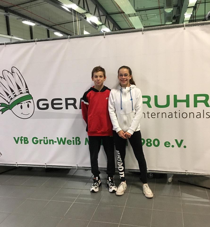 German Ruhr U13 / U15 International – Mulheim (Allemagne) – Octobre 2019